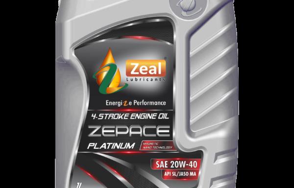 Zeal ZePace Platinum 4T 20W-40 SL (JASO MA)