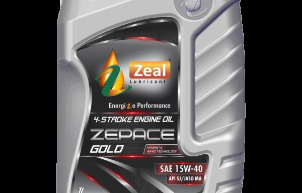 Zeal Zepace Gold 15W-40 SJ/JASO MA